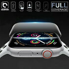 For Apple Watch Series 5 4 3D Edge Tempered Glass Full Screen Protector 40/44mm
