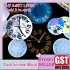 Clear Silicone Mold Making Jewelry Clocks Expoxy Resin Mould Casting Craft Tool