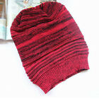 Womens Mens Winter Soft Knitted Crochet Slouch Baggy Beret Beanie Hat Chunky Cap