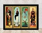 Disney Haunted Mansion Poster Stretching Room  8x10, 11x14, 13x19, 16x20, 18x24