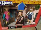 "NIB Mego Full House 8"" Figures Dolls DJ & Stephanie Tanner Numbered LE dameged"