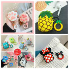 Lovely Cartoon Silicone Protector Case Cover For Apple AirPods 1 2 Charging $9.03  on eBay