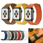 38/42mm 44mm Magnetic Leather Watch Band Loop Strap Apple Watch Series 5 4 3 2 1 image