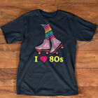 I Love 80s Rollerskates 1980s Retro Gift Women Teen Girls T-Shirt $18.99 USD on eBay
