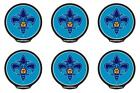 POWERDECAL PWR78001 Decal NBA (R) Series New Orleans Hornets Logo 6 PACK on eBay