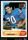 1968 Topps #19 Keith Lincoln Bills EX/MT $2.85 USD on eBay