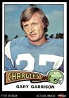 1975 Topps #230 Gary Garrison Chargers NM $1.3 USD on eBay