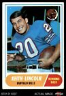 1968 Topps #19 Keith Lincoln Bills VG/EX $1.3 USD on eBay