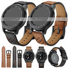Genuine Leather Band Strap For Samsung Galaxy Watch 42/46mm Active 2 40/44mm HOT image