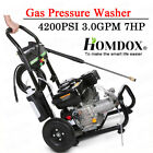 4200PSI 3.0GPM Gas Pressure Washer High Power Water Cleaner Jet Machine 8HP