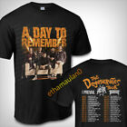 A Day To Remember The Degenerates Tour Dates 2019 T shirt S to 3XL MEN'S  image