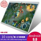 "New 8+128g 10.1"" 4g-lte Android 9.0 2.5d Hd Screen Dual Sim Calling Pc Tablet"