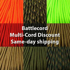 "Battle Cord/ Rope 2650 lb TS* Strength 7/32"" Paracord USA MADE same day shipping"