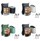 Vaya Tyffyn with Cutlery Set - 1000 ml Copper-Finished Stainless Steel Lunch Box