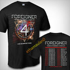 Foreigner Live in Concert 2020 T shirt S to 3XL MEN'S  image