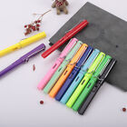 0.38mm Smooth Writing Plastic Fine Nib Fountain Pen Calligraphy Practice Supply