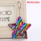 Star Shaped Mermaid Sequins Key Chain Handbag Pendant Keyring Jewelry GiftsU E_P