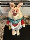"Disney Store Exclusive Alice in Wonderland WHITE RABBIT 15"" Plush"