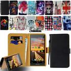 """Flip Leather Wallet Stand Cover Phone Case For Argos Alba 4 5 6 / Bush 4"""" 5"""" 5.5"""