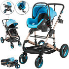 Baby Stroller 3 In 1 Newborn Foldable Pushchair High Landscape Pram Car Seat <br/> 100% Safe√Non-toxic√Shake-proof springs√