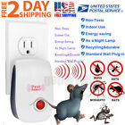 Ultrasonic Pest Repeller Reject Rat Home Bed Bug Mites Spider Defender Roaches