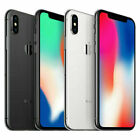 Apple iPhone X 64GB - Silver - Space Gray GSM Unlocked AT&T T-Mobile - Very Good