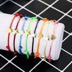 Heart Lucky Braided Jewelry Adjustable Red String Couple Bracelet K