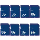 SD Card 16M 32M 64MB 128M 256M 512MB 1GB 2GB Secure Digital Sdandard Memory Card