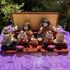Rare Vintage Japanese HINA 6 Doll & Accessories Total 26 pieces.