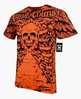 XTREME COUTURE by AFFLICTION Men T-Shirt ANATOMY Tattoo Biker MMA GYM S-2X $40 image