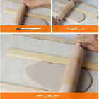 Natural Wooden Plain Rolling Pin Roller Rod For Flour/ Clay /Paste /DIY image