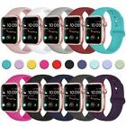 38mm-44mm Silicone Bracelet Band Strap For Apple Watch Sports Series1/2/3/4/5 image