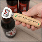 PERSONALISED Merry Christmas Bottle Opener Gifts for Him Dad Stepdad Son Uncle