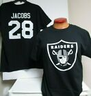 JOSH JACOBS OAKLAND RAIDERS  JERSEY SHIRT NAME NUMBER PICK SIZE MENS NEW $18.99 USD on eBay