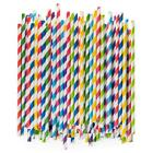 Paper Drinking Straws 100% Biodegradable - Assorted Colors