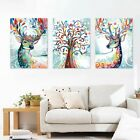 Elk Art Paints on Canvas Painted Oil Painting Art Sofa Wall Frame Esdtu Mbyss