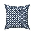 Starburst Retro Mod Vintage Throw Pillow Cover w Optional Insert by Roostery