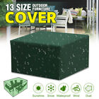 13 Size Garden Patio Furniture  Lounger Cover Waterproof Rattan Table