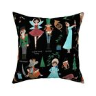 Christmas Kids Children Throw Pillow Cover w Optional Insert by Roostery