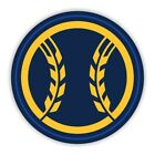 Milwaukee Brewers 2019 Round  Precision Cut Decal / Sticker