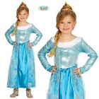 Childs Girls Ice Princess Fancy Dress Costume Kids Childrens Outfit New fg