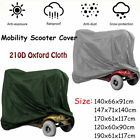 Hot Mobility Scooter Storage Rain Cover Waterproof Protector 210D Oxford Tool