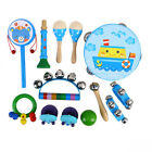 FixedPrice13x toddler educational & musical percussion instruments kit for kids & children