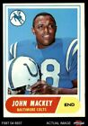 1968 Topps #74 John Mackey Colts Syracuse 5 - EX $5.25 USD on eBay