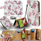 Flip Leather Card Wallet Stand Cover Phone Case For LG Smartphones