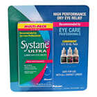 Systane Ultra-lubricant Eye Drops, 3 Packs, 10 mL Per Bottle, EXP Jun 2021
