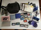 Nintedo DS & Game Boy Advance with games and accessories