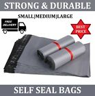 Grey mailing bags strong poly postal postage post mail self seal all sizes ^MBAG