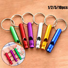 with Keyring Emergency Whistles Survival Whistle Training Accessories EDC Tools