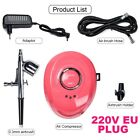 Air Compressor Nail Painting 0.2/0.3/0.4mm Nozzle Airbrush Pro Airbrush Compress